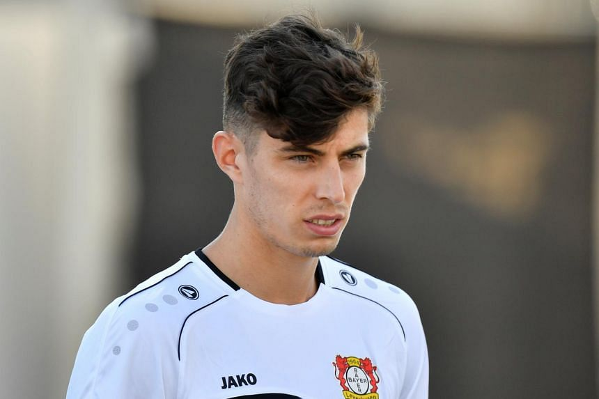 Kai Havertz scored 46 goals and made 31 assists in 150 games for his Bayer Leverkusen before being signed to Chelsea.