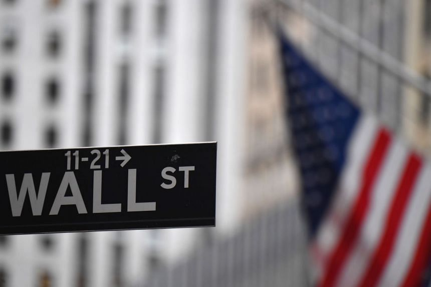 The New York Stock Exchange is pictured in Wall Street, in New York City.