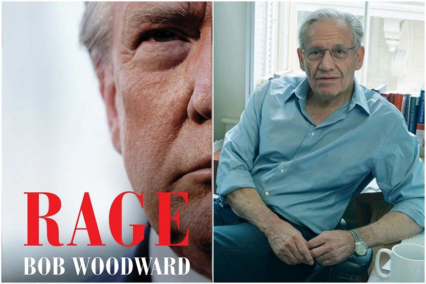Bob Woodward conducted 18 interviews with US President Donald Trump for the book.