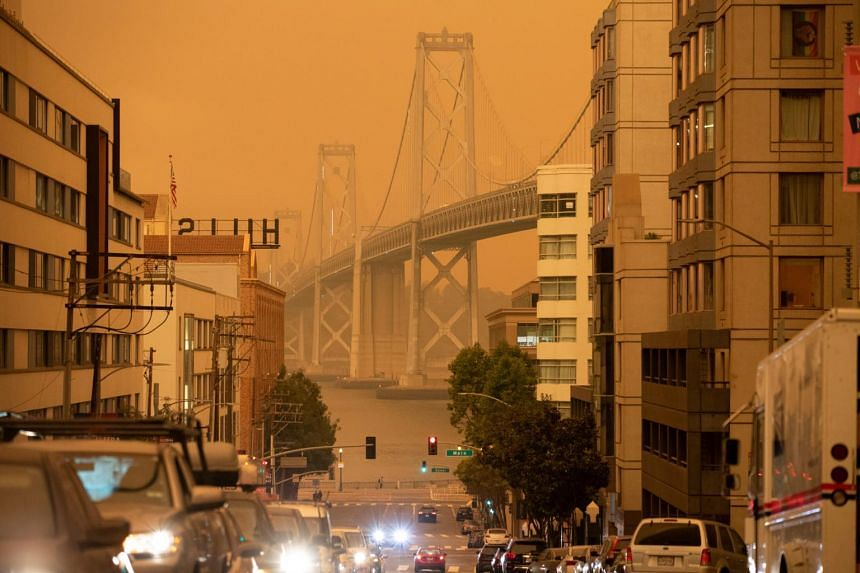 Dark skies blocking the sun chilled temperatures at what has historically been the warmest time in San Francisco.