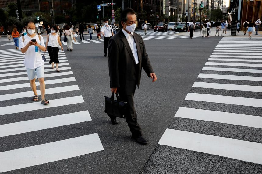 Tokyo's daily cases have gradually declined since hitting a peak of 472 cases in early August.