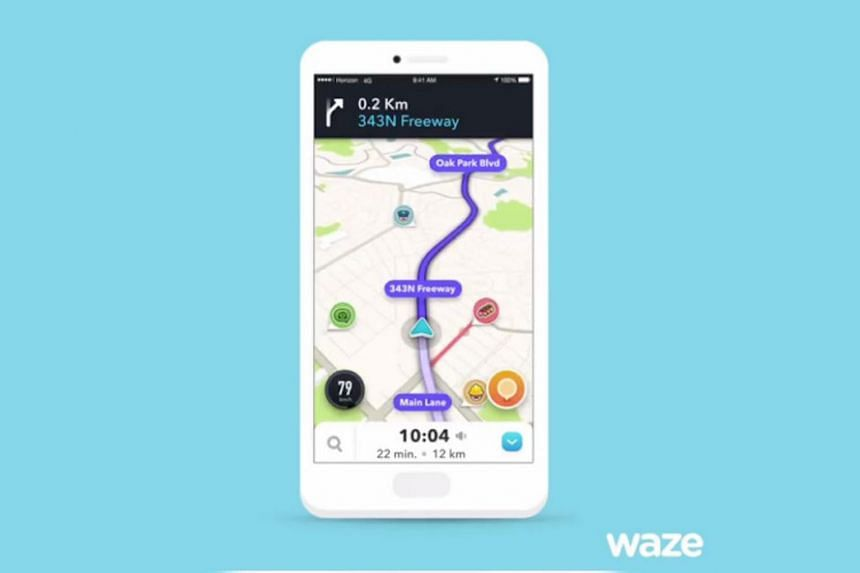 The app uses user-supplied data to help people find alternate routes to avoid traffic jams or speed cameras.