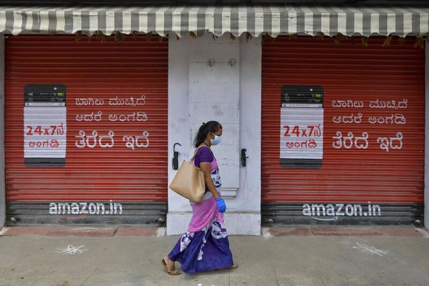 Latest figures show India's economy contracted by 23.9 per cent in the April to June period.
