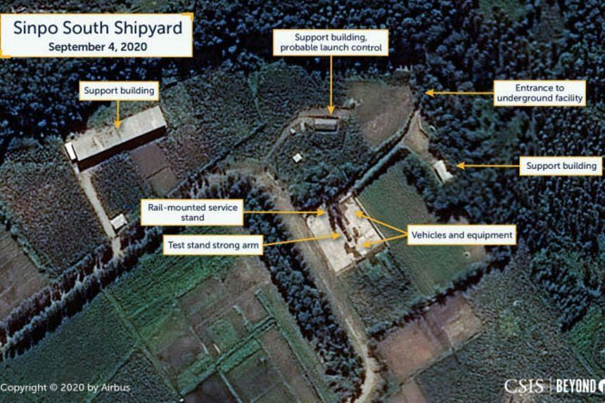 News of the activity at Sinpo shipyard comes amid signs that North Korea may be preparing for a major military parade in October.