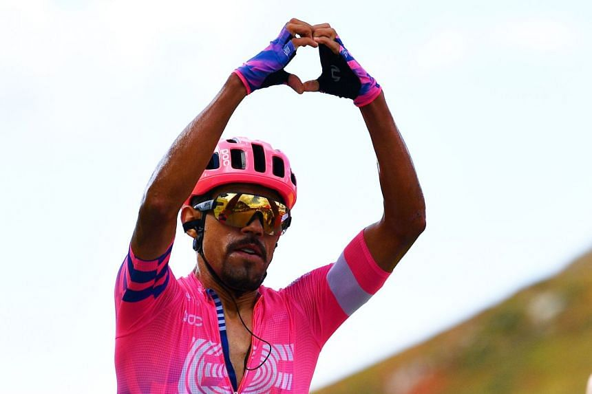 Martinez of Colombia wins the stage.