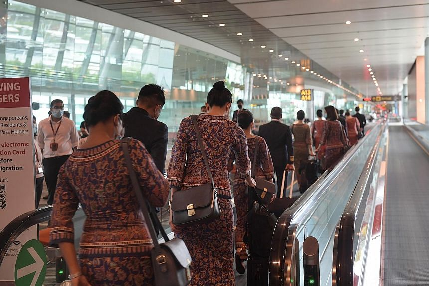 The Singapore Airlines Staff Union will help affected employees look for other jobs, and it will help foreign staff in areas such as getting them home.
