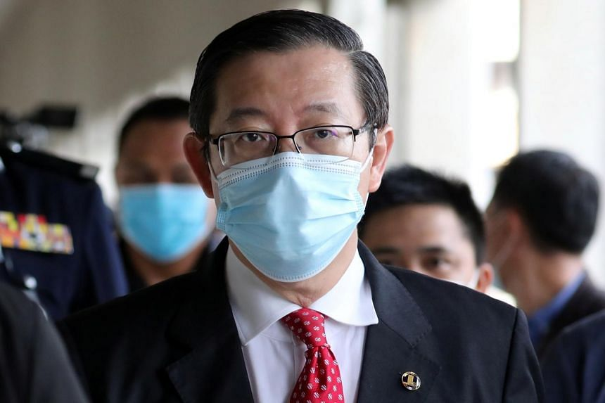 Lim Guan Eng was charged with dishonest misappropriation of property leading to the disposal of state land in Penang.
