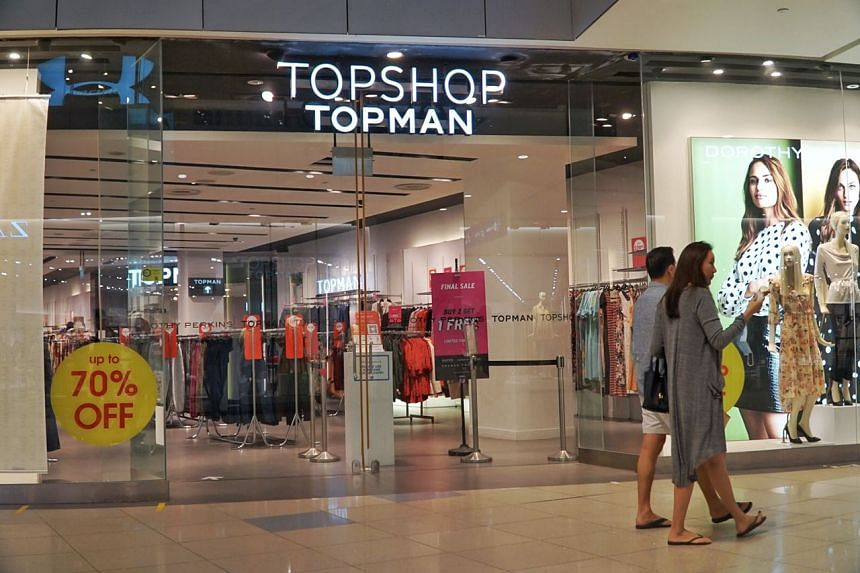 Topshop's and Topman's brand manager confirmed that the last outlet at VivoCity would be closing on Sept 17, 2020.