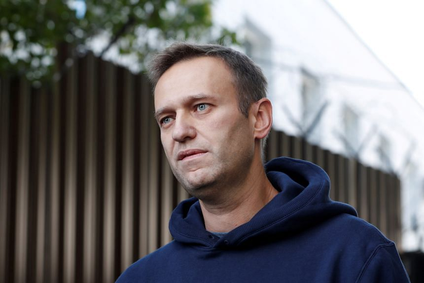 Police had interviewed five of the six people it said accompanied Alexei Navalny on the journey when he fell ill.