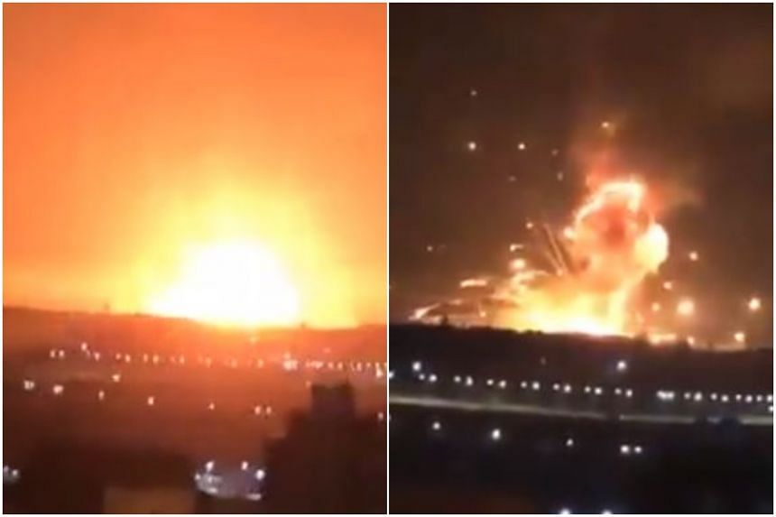 Huge blast rocks Jordan military base, Middle East News & Top Stories - The  Straits Times