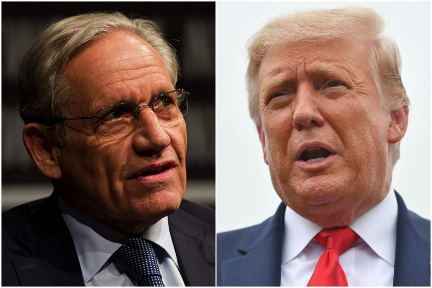 US President Donald Trump appeared to disclose top-secret defence information to veteran journalist Bob Woodward.