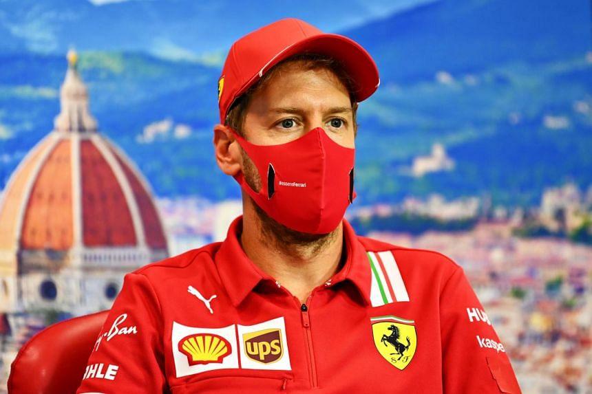 Sebastian Vettel made clear he felt revitalised by the prospect of joining Aston Martin in 2021.