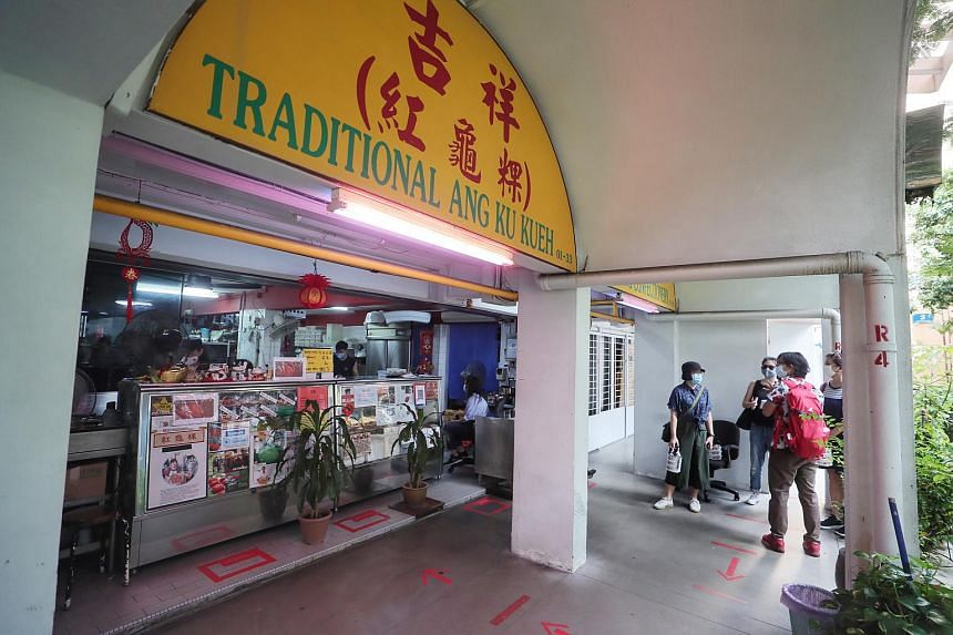 Indie Singapore's new tour of Blair Plain covers businesses such as Ji Xiang Confectionary in Everton Park, whose ang ku kueh attracts long queues of customers.