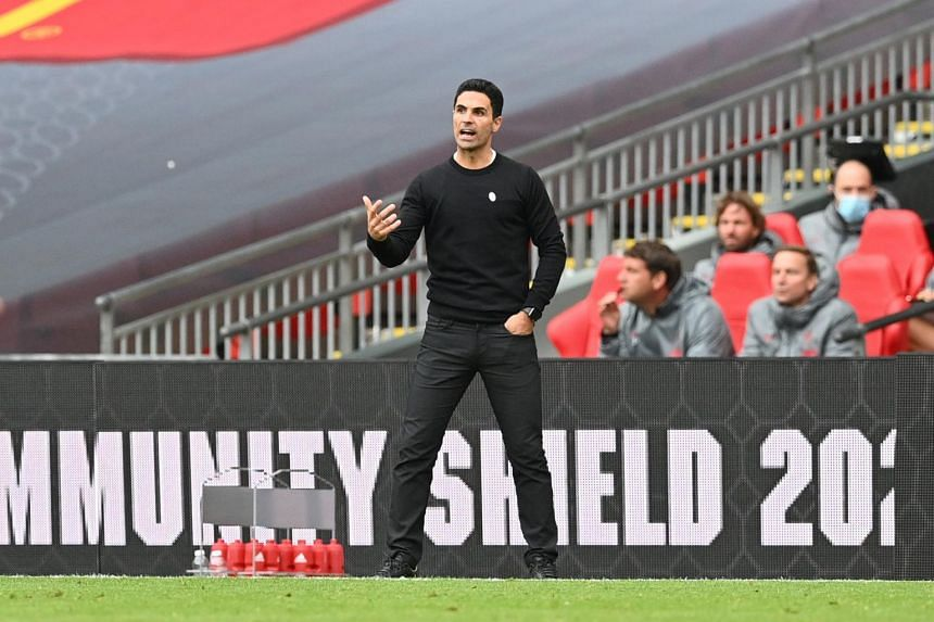 Mikel Arteta said his players were not content with what they had achieved in his first season but had been boosted by winning silverware.