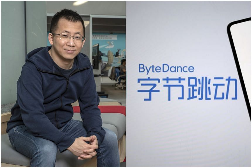 Chief executive officer and founder of Bytedance Zhang Yiming. Bytedance is looking to spend several billion dollars in Singapore over the next three years.