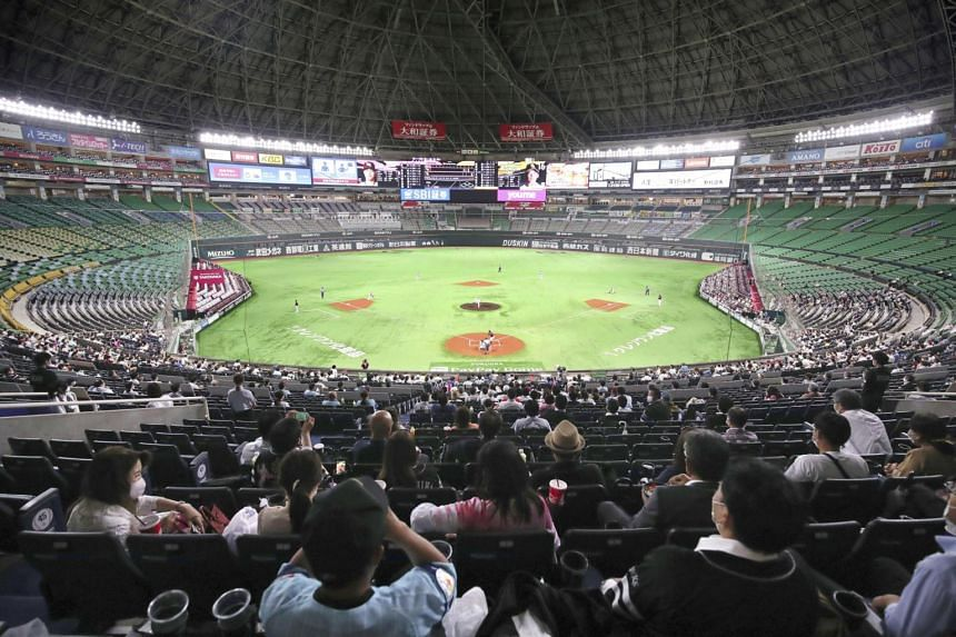 For professional baseball games and soccer matches, there is a current restriction of no more than 5,000 attendees.
