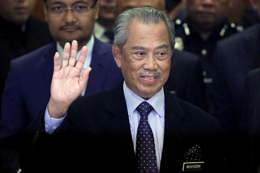The alliance comprised Tan Sri Muhyiddin's Perikatan Nasional coalition, Barisan Nasional and Parti Bersatu Sabah.