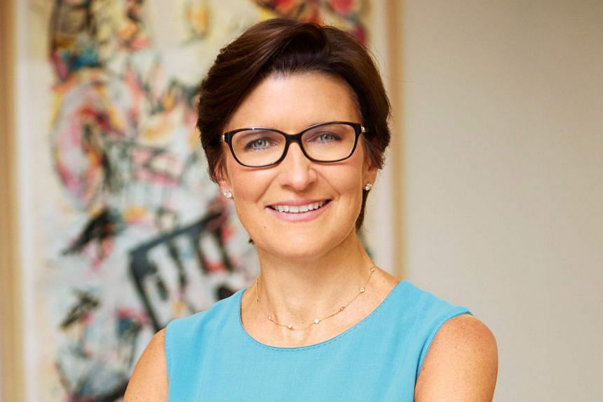 Citigroup's consumer banking head Jane Fraser will succeed Mr Michael Corbat next year as the bank's chief executive officer. PHOTO: AGENCE FRANCE-PRESSE