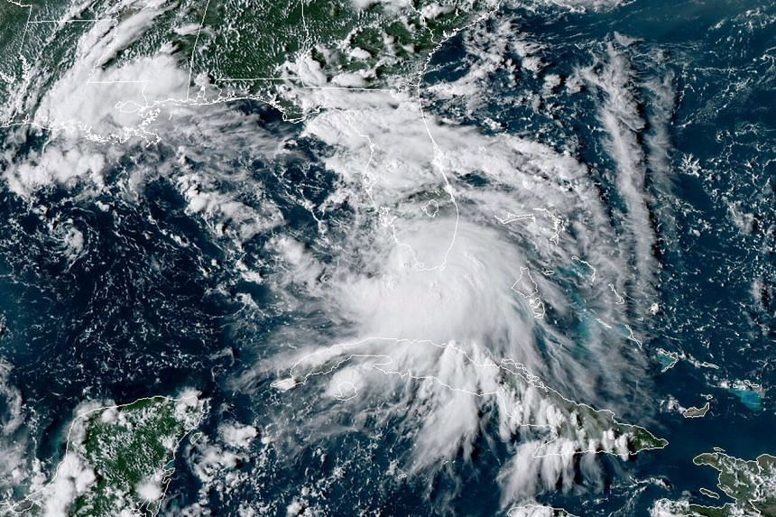 Tropical Storm Sally's winds could reach 160kmh as it approaches south-east Louisiana.