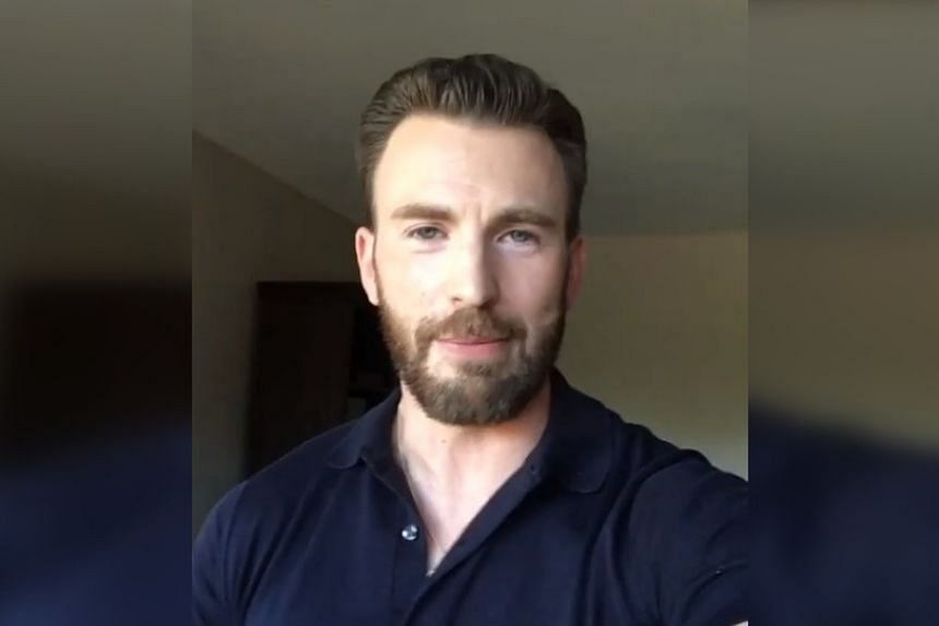 It is unclear if the camera roll is Chris Evans' or not, and he has yet to address the leak publicly.