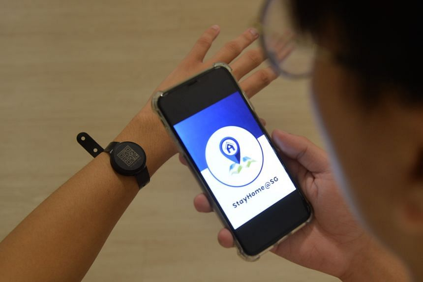 Those issued the devices have to activate them on reaching their place of residence.