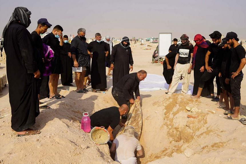 Iraqis are exhuming the Covid-19 victims to rebury them in their rightful place in family cemeteries.
