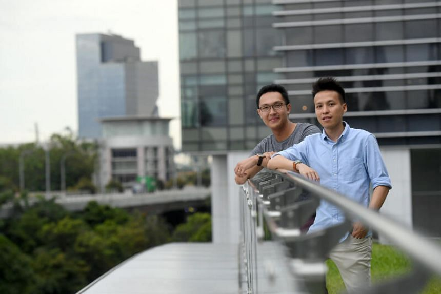 Spur is an aggregator app started by two young technopreneurs Mark Lim and Timothy Khor (left).