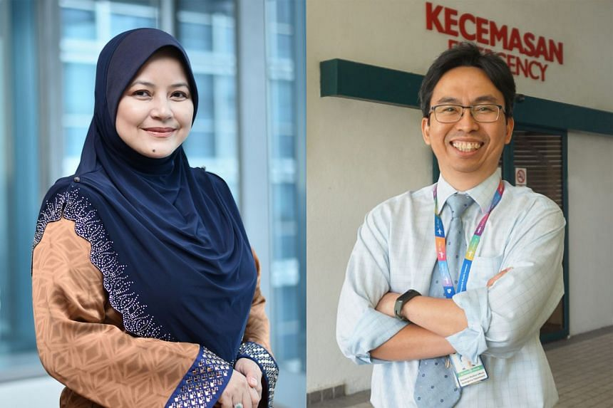 Ms Sherene Azli (left), Malaysian Healthcare Travel Council's chief executive, says medical tourists will be taken directly to their hospitals where they will undergo quarantine with their treatment. Dr Mohd Ridzuan Abdul Razak (right) from Pantai Ho