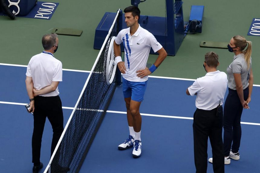 Following the incident, US Open organisers confirmed Novak Djokovic was fined US$250,000.