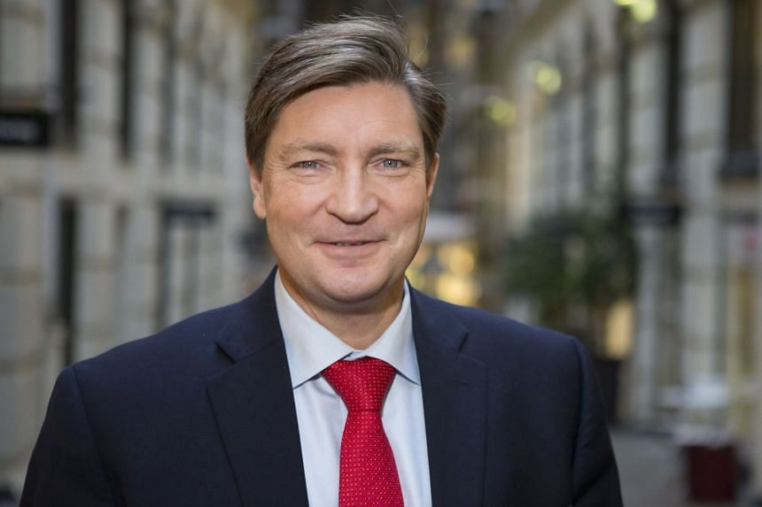 Christian Tybring-Gjedde (above) has nominated Trump for the 2021 Nobel Peace Prize.