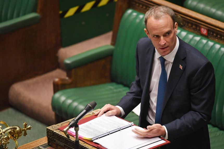British Foreign Secretary Dominic Raab said the UK could act to help bring mid-sized countries together.