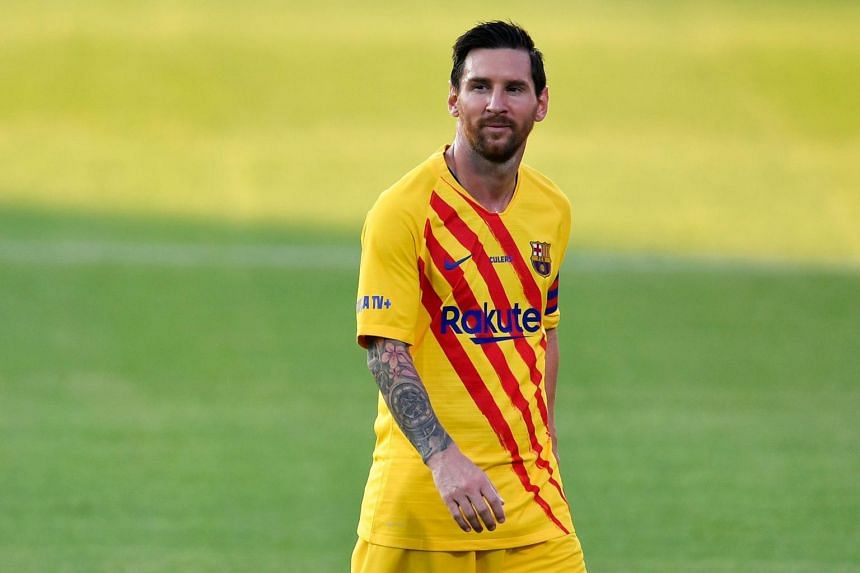Lionel Messi's total earnings this year are US$126 million (S$172 million).