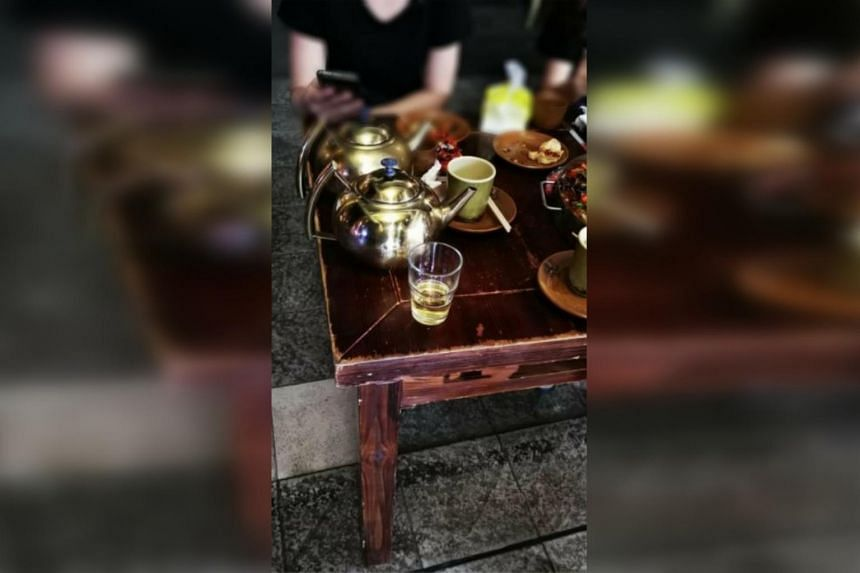An F&B outlet was found to have served alcoholic drinks from metal teapots past 10.30pm to customers.