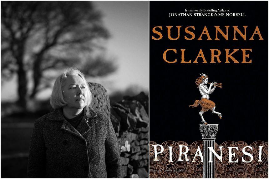 Piranesi (right) is by British author Susanna Clarke (left).