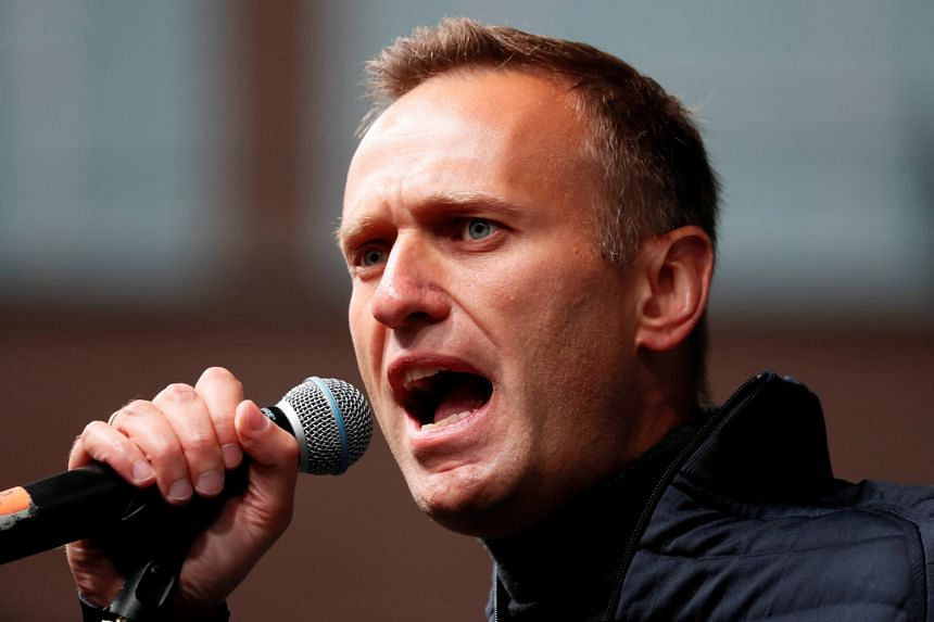 Russian opposition leader Alexei Navalny had been in a medically induced coma.