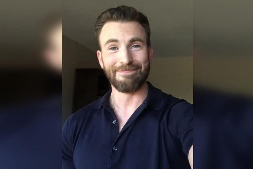Chris Evans trended on social media after a man's private parts were seen in one of the photos he shared on Instagram.