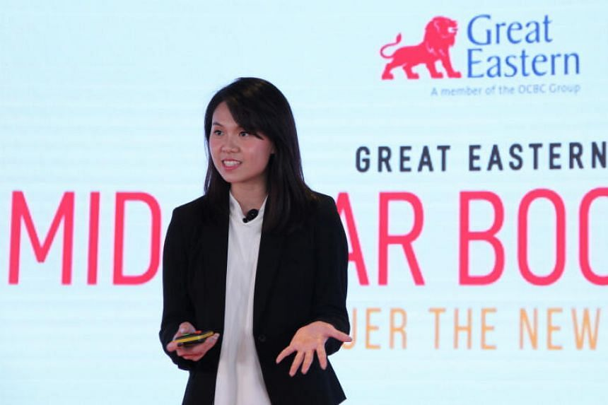 Recent graduate Vanessa Lim joined Great Eastern Financial Advisers in April.