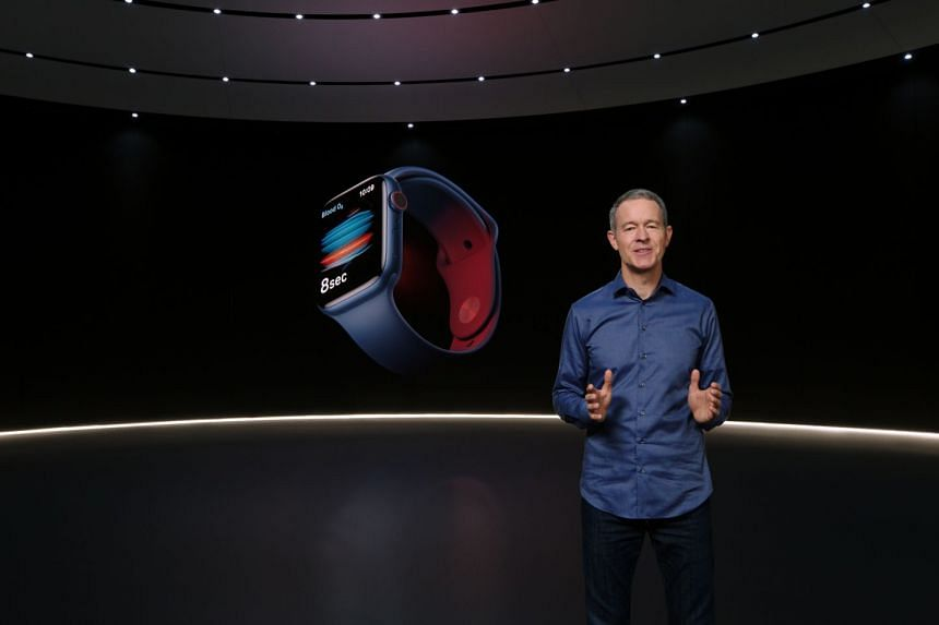 Apple's chief operating officer Jeff Williams introduces Apple Watch Series 6 and the revolutionary Blood Oxygen app and sensor during the company's virtual event.
