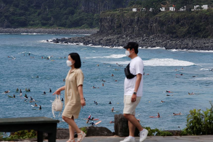Some 200,000 tourists are expected to visit the scenic island from Sept 30 through Oct 4.