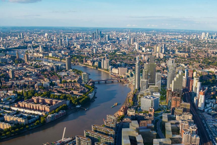 Central London plays home to some of the most storied institutions of both Britain and the world, and has emerged as a hot spot for Asian property investment over the years. PHOTO: ECOWORLD BALLYMORE
