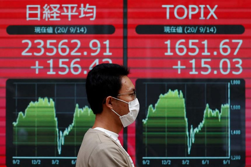 Japan's Nikkei erased early losses and was last up 0.14 per cent.