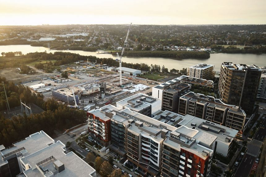 Housing estates are rising for those pushed out by the centre's high property prices.