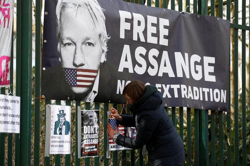 WikiLeaks' founder Julian Assange is fighting against being sent to the US.