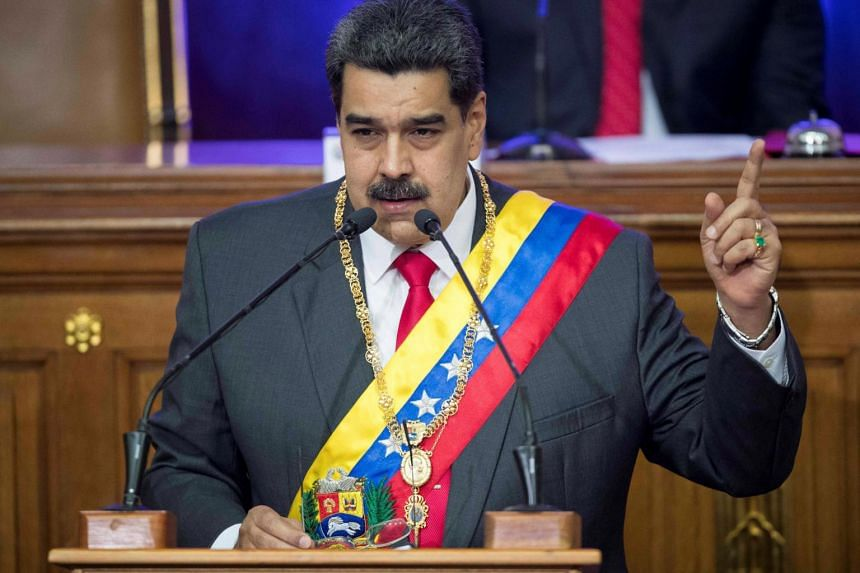 Mr Maduro faces mounting pressure from world powers who accuse him of violently cracking down on dissent.