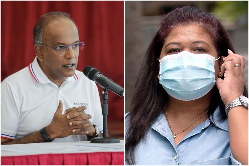 """Home Affairs and Law Minister K. Shanmugam said it would be good to """"openly set out what happened and deal with the questions"""" regarding Ms Parti Liyani's case."""