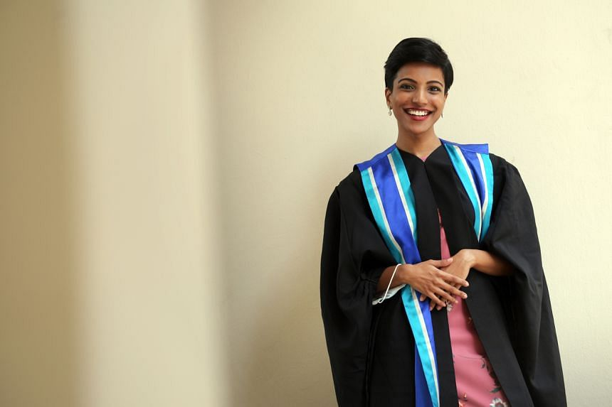 Ms Aisha Shaik was the valedictorian for her 10-month course, a specialist diploma in educational therapy.