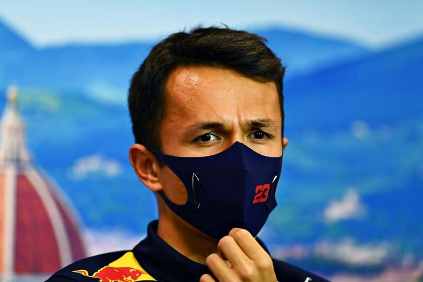 Alex Albon became the first Thai driver to stand on the podium when he finished third at the Tuscan Grand Prix.