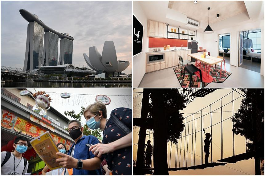 In addition to the vouchers, adult Singaporeans will also be able to purchase up to six subsidised tickets for attractions and tours.