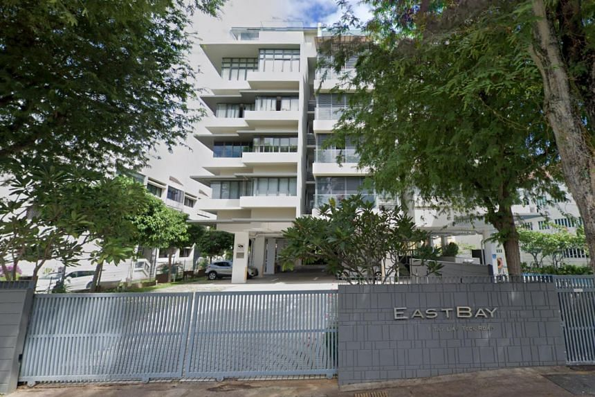 The men had gone to an apartment in Eastbay condominium for an illegal get-together during the circuit breaker period.