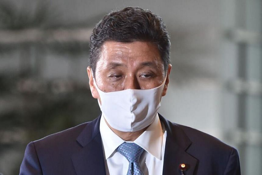 Mr Nobuo Kishi (above) is former Japan PM Shinzo Abe's blood brother, but was adopted into Mr Abe's maternal family when he was born.